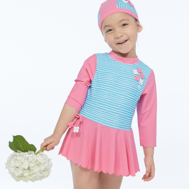 Girls Sun Protective Suit