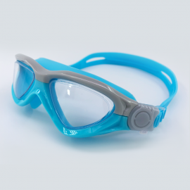 Blue goggle clear lens with buckle