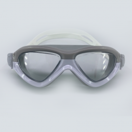 White goggle clear lens with buckle