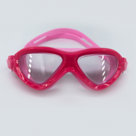 Pink goggle clear lens with buckle