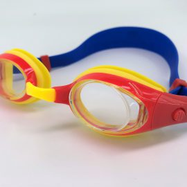 Orange Yellow Goggle clear lens