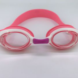 Peach white Goggle clear lens