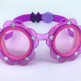 Flower purple goggle