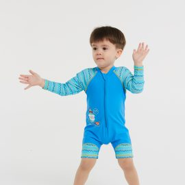 Surf 'n Friends Printed Elbow Sleeve Length Sun Protective Suit