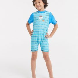 Surf 'n Friends Printed  Sun Protective Suit
