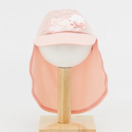 Pink nude color mermaid print Sun Hat