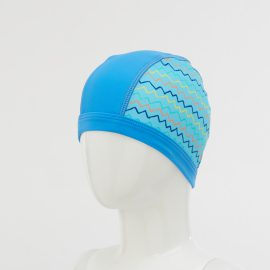 Surf 'n Friends Printed Swim Cap
