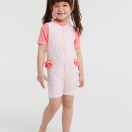 Cherry Printed Sun Protective Suit