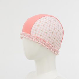 Cherry print Swim Cap